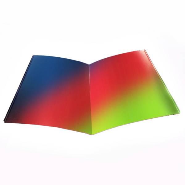 Ендова нижняя из оцинкованного железа с окраской в любой цвет RAL