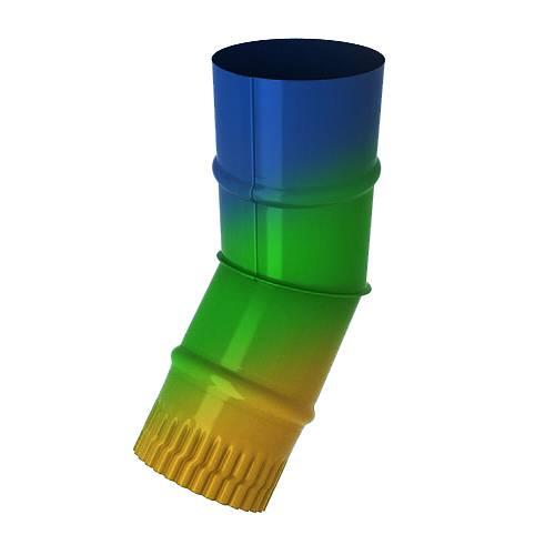 Колено водосточное с окрашиванием всех цветов RAL
