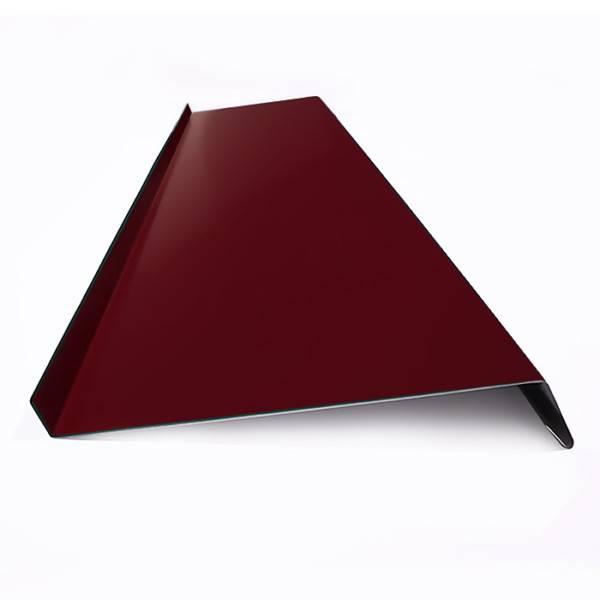 Окрашенный отлив для окон, RAL 3005, винно-красный