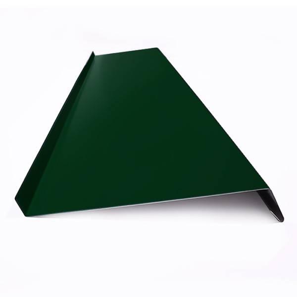 Отлив для окна окрашенный RAL 6005 зеленый мох