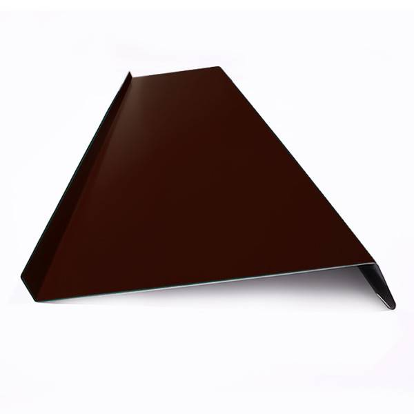 Отлив оконный оцинкованный, RAL8017 шоколадно-коричневый
