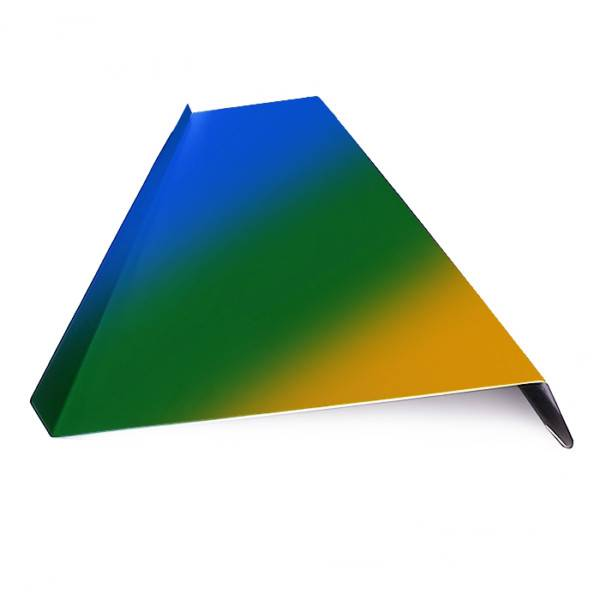 Отлив оцинкованный для окон, окрашенный в цвета RAL