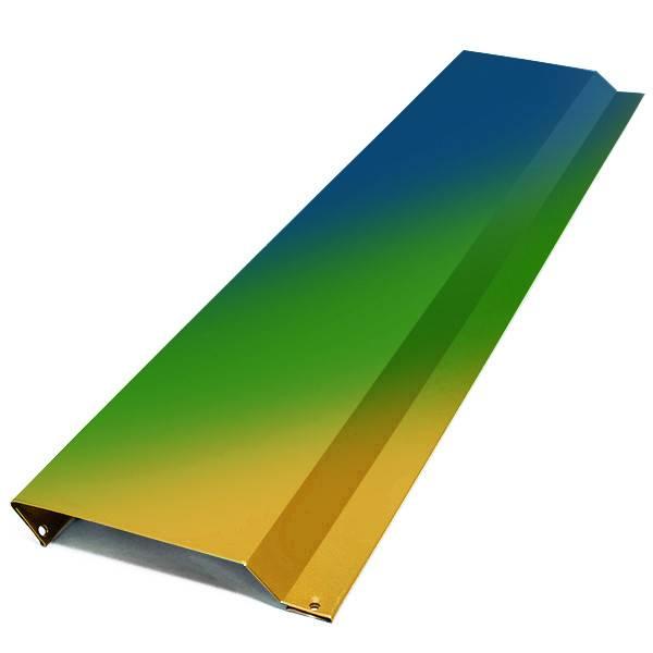 Отлив для цоколя фундамента с покраской в цвета RAL