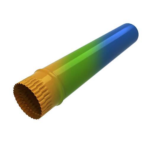 Труба водосточная RAL